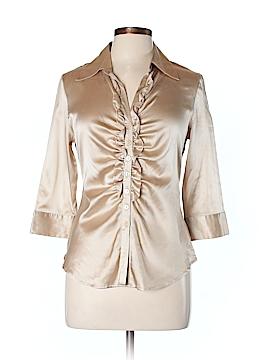 Bernardo 3/4 Sleeve Silk Top Size 10