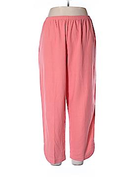 Susan Graver Linen Pants Size XL