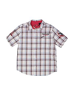 Ecko Unltd Short Sleeve Button-Down Shirt Size S (Youth)