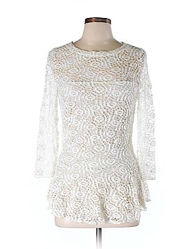 Elana Kattan 3/4 Sleeve Top Size M