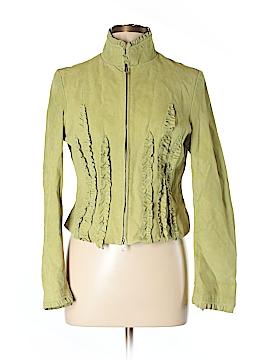 Metrostyle Leather Jacket Size 12