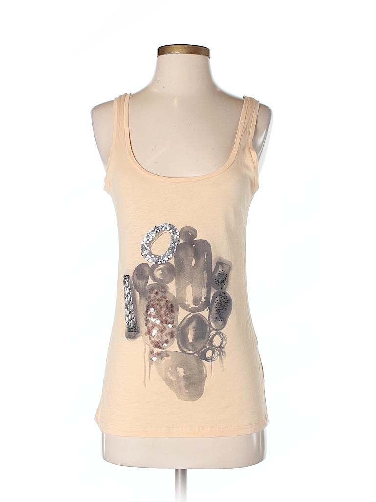 NWT Xhilaration Women's XXL 2XL Tan Beige Khaki Lace Back Victorian Tank Top See more like this NWT Kenar % Linen Tank Top Shirt Sleeveless SIZE SMALL, Tan Brand New · Kenar · Size (Women.
