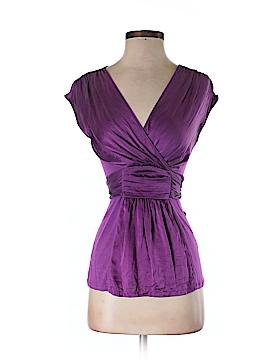 Antonio Melani Short Sleeve Silk Top Size XS