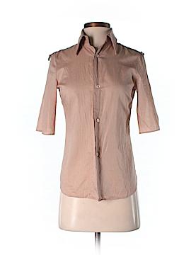 Costume National Short Sleeve Button-Down Shirt Size 38 (EU)