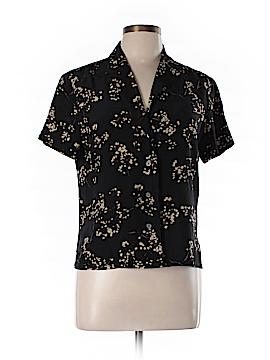 Linda Allard Ellen Tracy Short Sleeve Silk Top Size 10