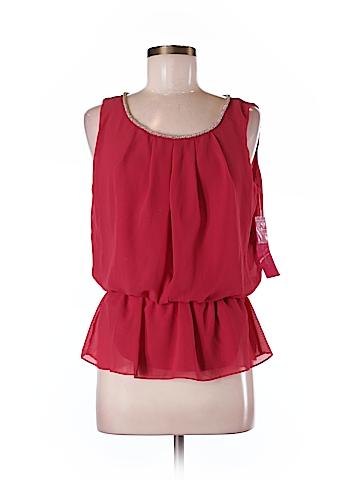 Sunny Leigh Sleeveless Blouse Size M