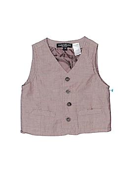 Wendy Bellissimo Tuxedo Vest Size 9 mo