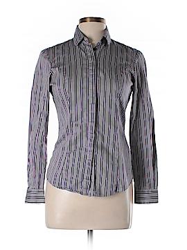 T.M. Lewin Long Sleeve Button-Down Shirt Size 10