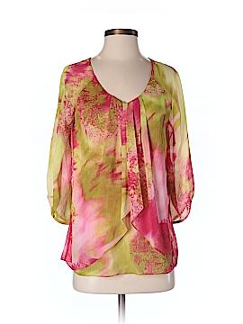 AK Anne Klein 3/4 Sleeve Blouse Size S