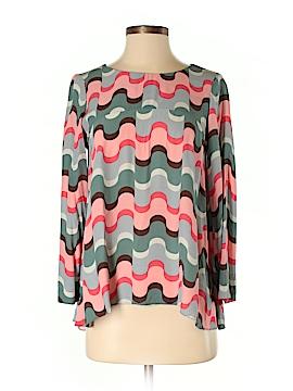 Boden Long Sleeve Blouse Size 4 (Petite)