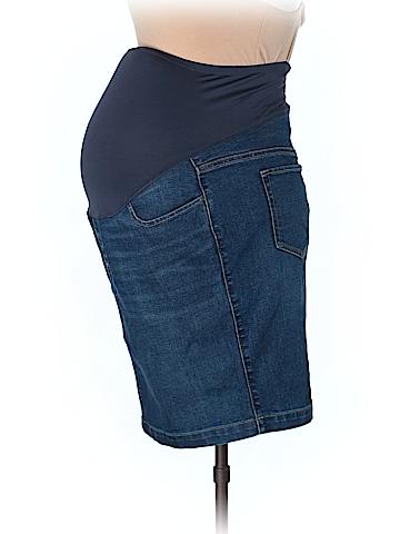 Old Navy - Maternity Denim Skirt Size 10 (Maternity)