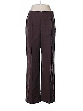Le Suit Linen Pants Size 8 (Petite)
