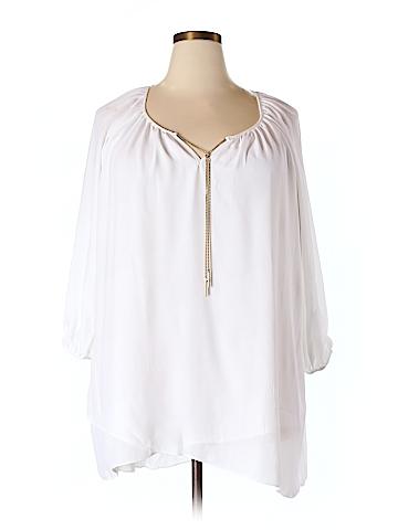 Avenue 3/4 Sleeve Blouse Size 18/20 (Plus)