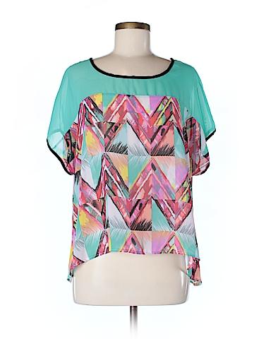 Dots Short Sleeve Blouse Size L