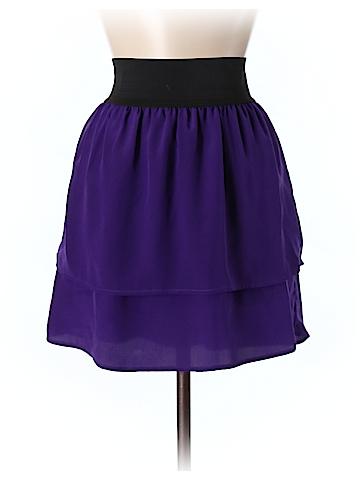 Eight Sixty Women Silk Skirt Size M