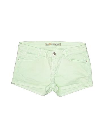 Zara TRF Women Denim Shorts Size 8