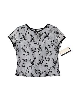 Amy Byer Short Sleeve Blouse Size 14