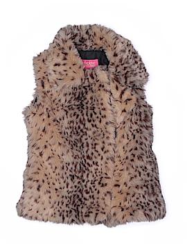 CATHERINE Catherine Malandrino Faux Fur Vest Size 6X