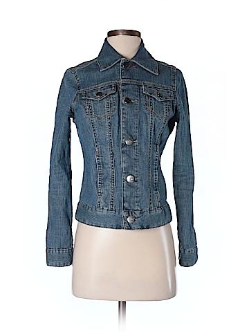 Jag Women Denim Jacket Size XS (Petite)