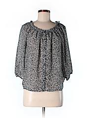 H&M Women 3/4 Sleeve Blouse Size 2