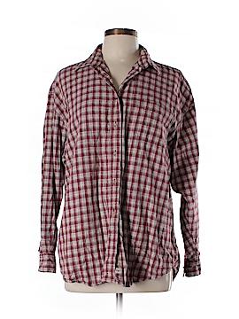 Legend Long Sleeve Button-Down Shirt Size L