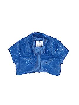 Justice Faux Fur Vest Size 6