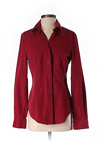 Trussardi Long Sleeve Button-Down Shirt Size 42 (IT)