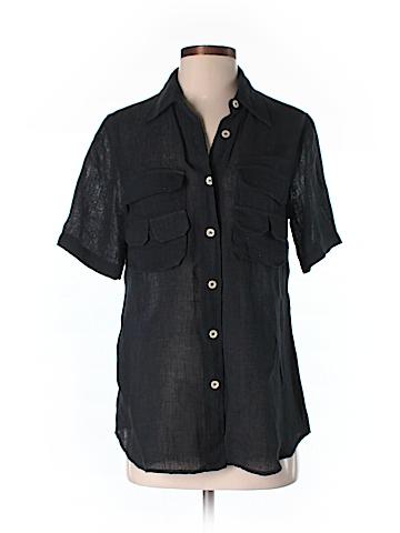 Billy Reid Short Sleeve Button-Down Shirt Size S
