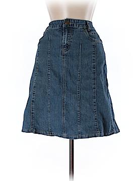 Baccini Denim Skirt Size 6