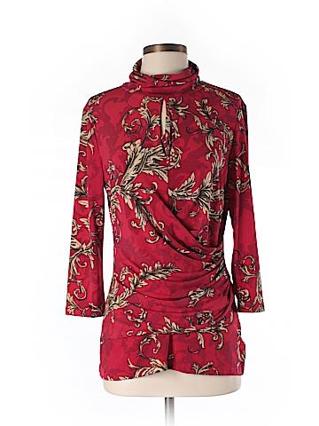 7th Avenue Design Studio New York & Company 3/4 Sleeve Blouse Size M