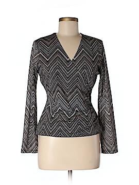 AK Anne Klein Long Sleeve Top Size S