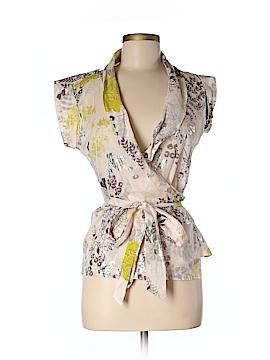 Eva Franco Short Sleeve Blouse Size 2