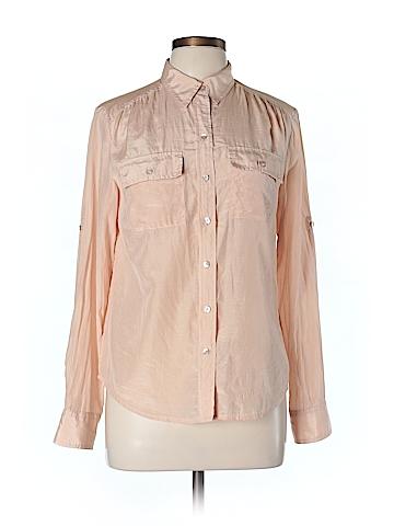 Ann Taylor Women Long Sleeve Silk Top Size 6