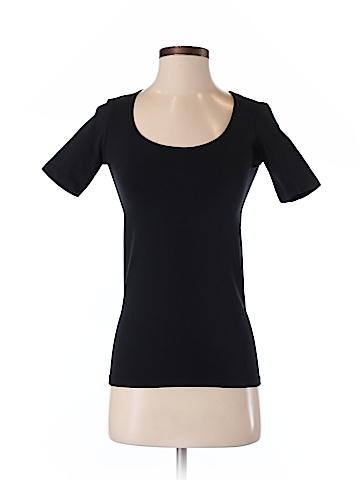 Black Saks Fifth Avenue Short Sleeve T-Shirt Size XS - Sm