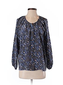 Bayla Jane Long Sleeve Silk Top Size S
