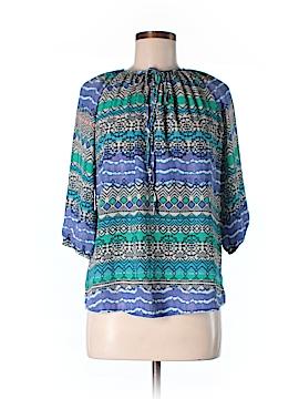 Blue Rain 3/4 Sleeve Blouse Size S