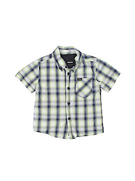 Hurley Short Sleeve Button-Down Shirt Size 12 mo