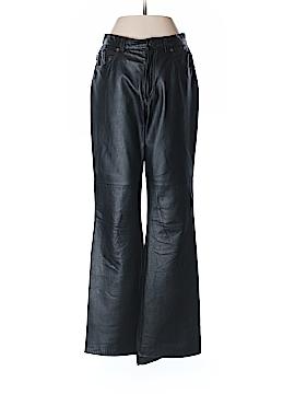 Lauren Jeans Co. Leather Pants Size 4
