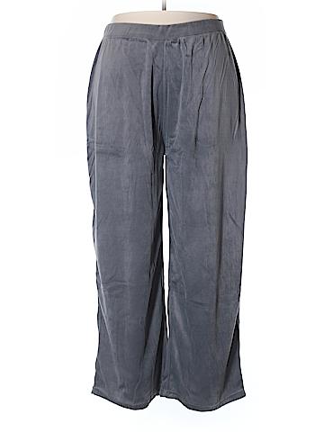 Coldwater Creek Velour Pants Size 3X (Plus)