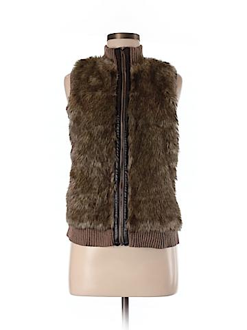 Cynthia Rowley for T.J. Maxx Faux Fur Vest Size M