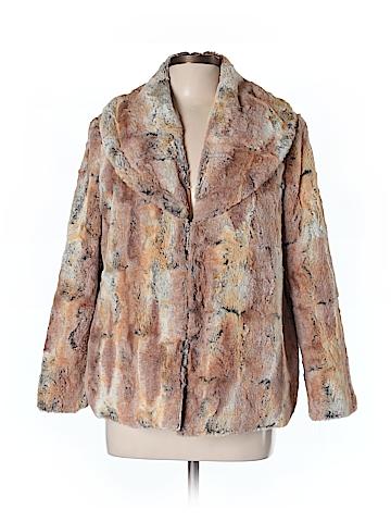 Alice + olivia Faux Fur Jacket Size L
