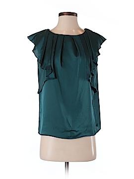 J. Peterman Short Sleeve Blouse Size 2