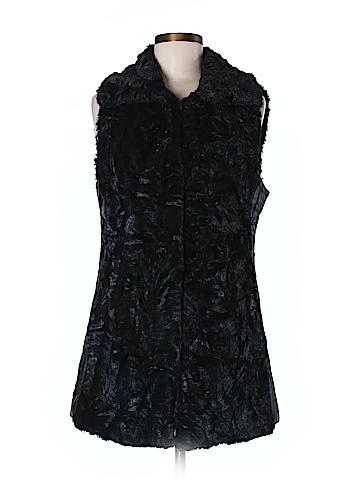 Marc New York Faux Fur Vest Size M