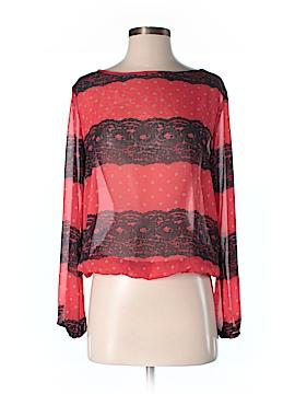 Francesca's Long Sleeve Blouse Size S