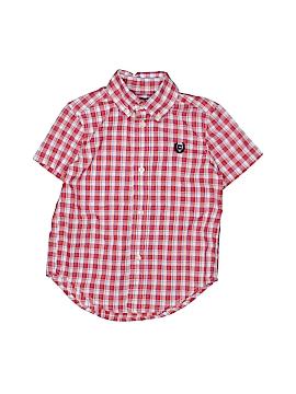 Chaps Short Sleeve Button-Down Shirt Size 2T