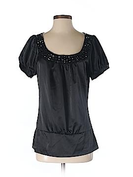 6 Degrees Short Sleeve Blouse Size S