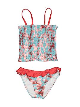 Oscar De La Renta Two Piece Swimsuit Size 8