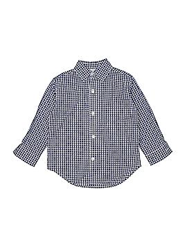 CZ by Carolina Zapf Long Sleeve Button-Down Shirt Size 8