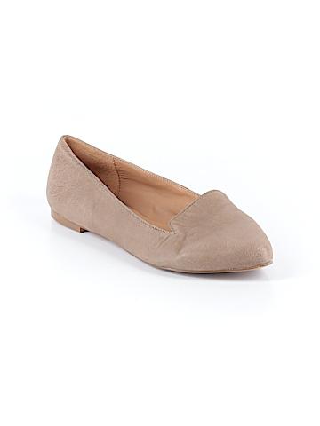 Samantha Grey Flats Size 8