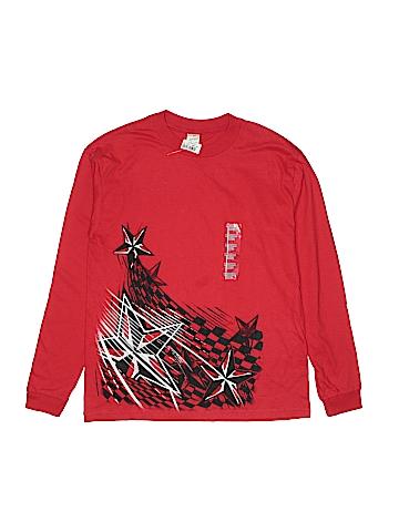 USA Soft Spun Long Sleeve T-Shirt Size 10 - 12
